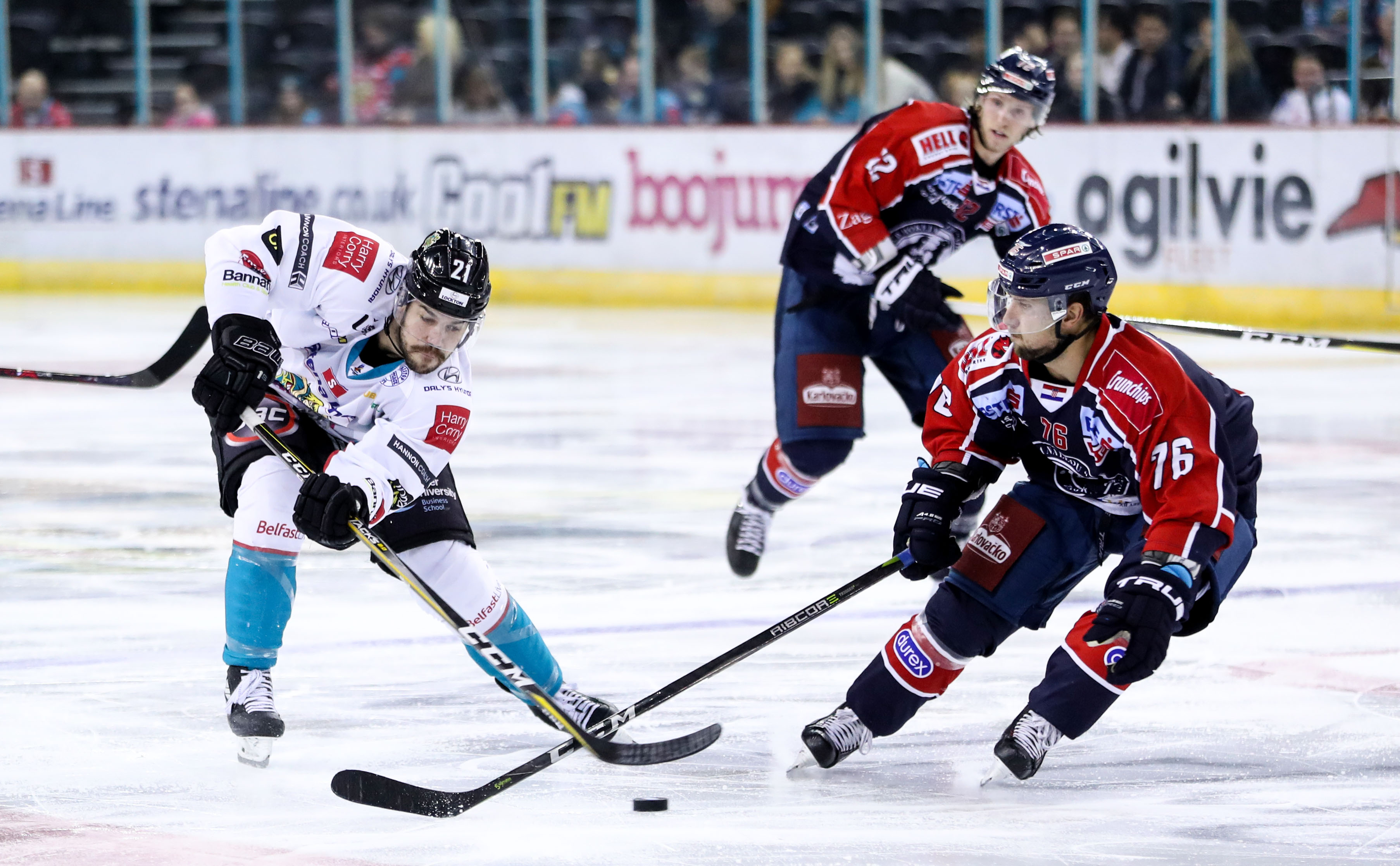 IIHF Continental Cup - Group E Belfast Giants vs Medvescak Zagreb
