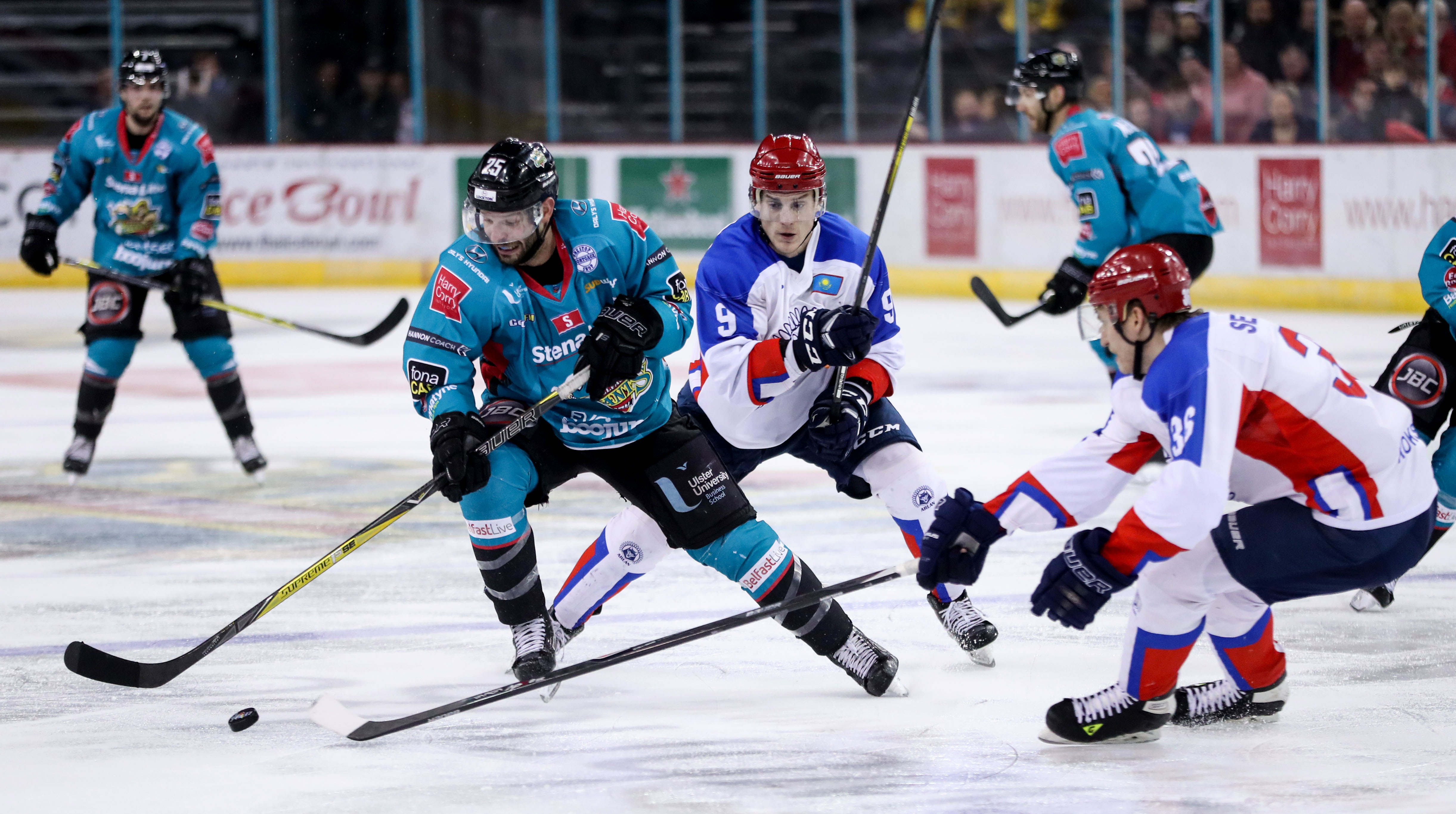 IIHF Continental Cup Final - Belfast Giants v Arlan Kokshetau