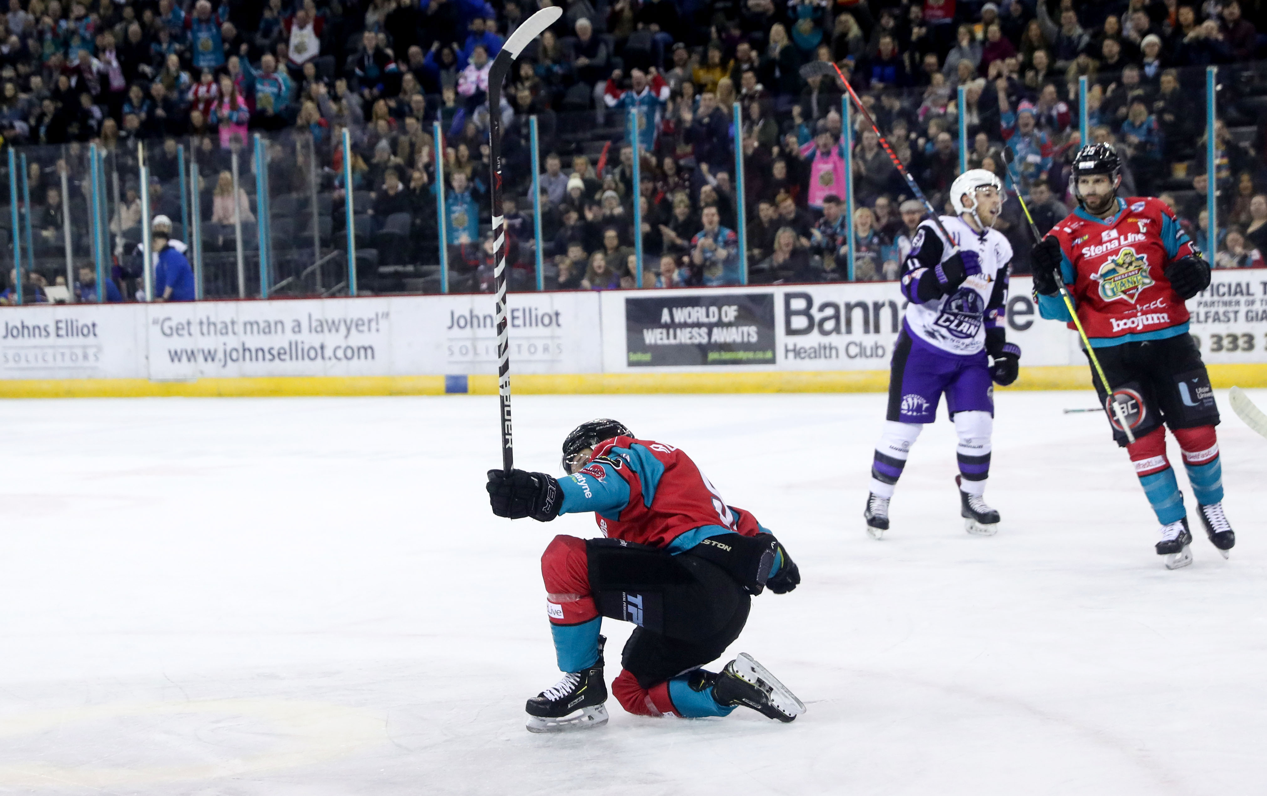 Belfast Giants v Glasgow Clan - Challenge Cup Semi Final 2nd Leg