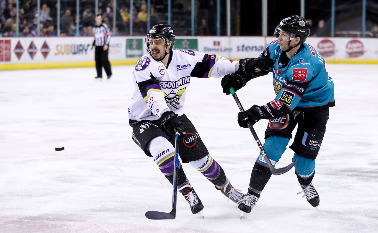 Belfast Giants v Manchester Storm - Elite Ice Hockey League