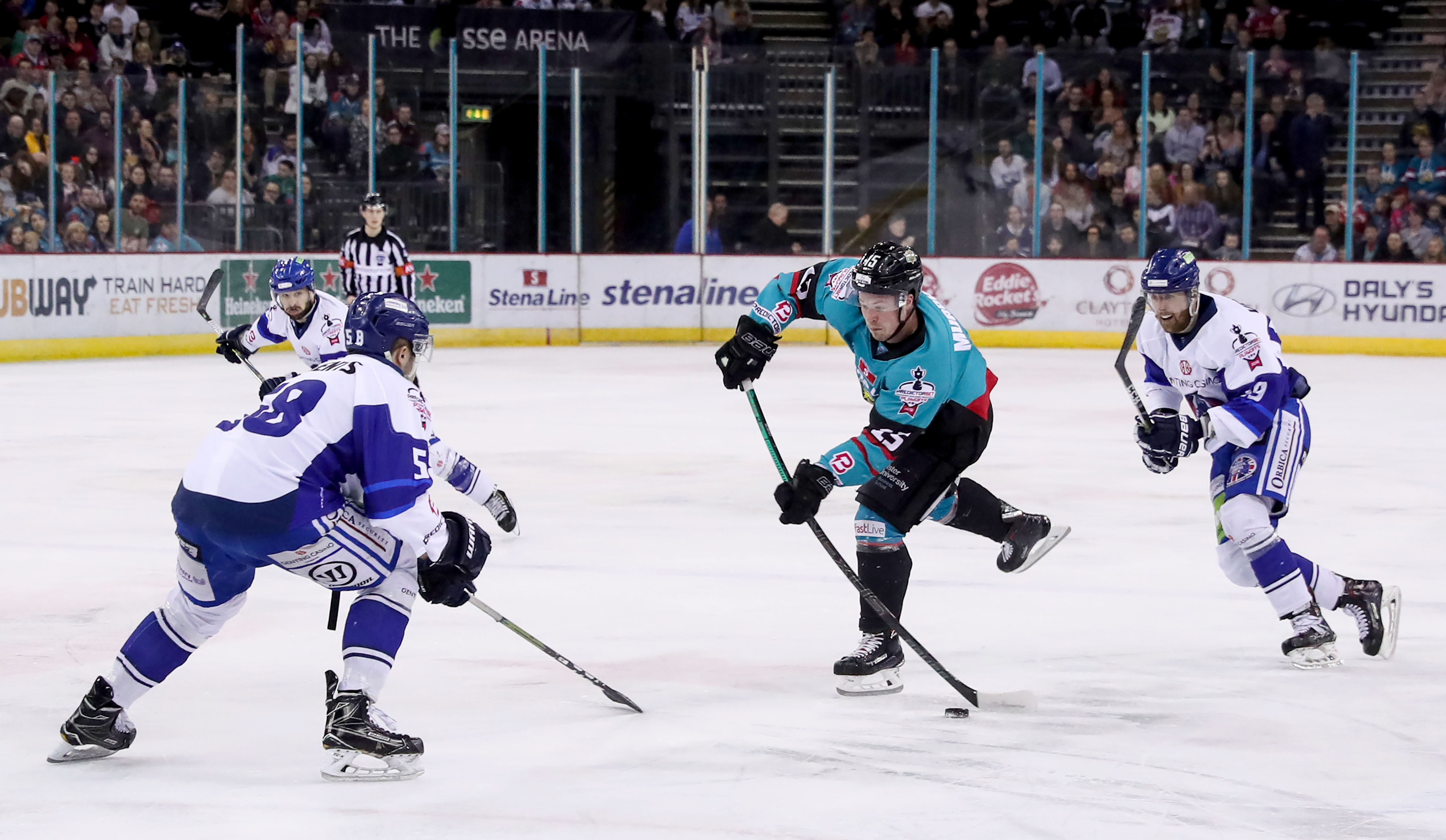 Belfast Giants v Coventry Blaze - PredictorBet Playoff Quarter Final 1st Leg