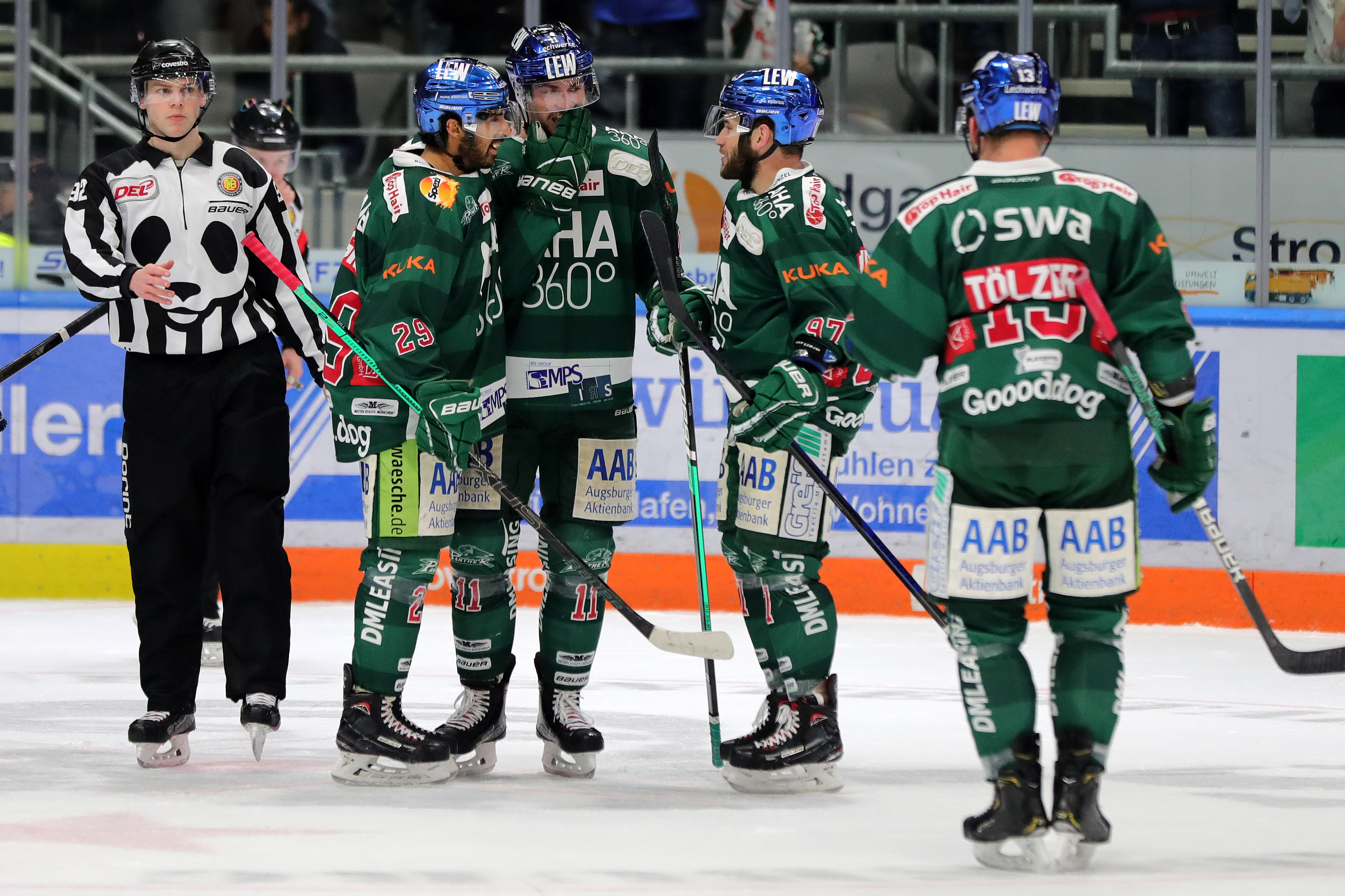 ICE HOCKEY - DEL, Augsburg vs RB Muenchen