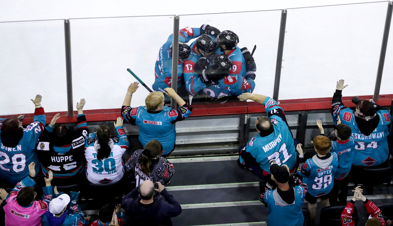 Belfast Giants v Augsburger Panther (Germany) - Champions Hockey League