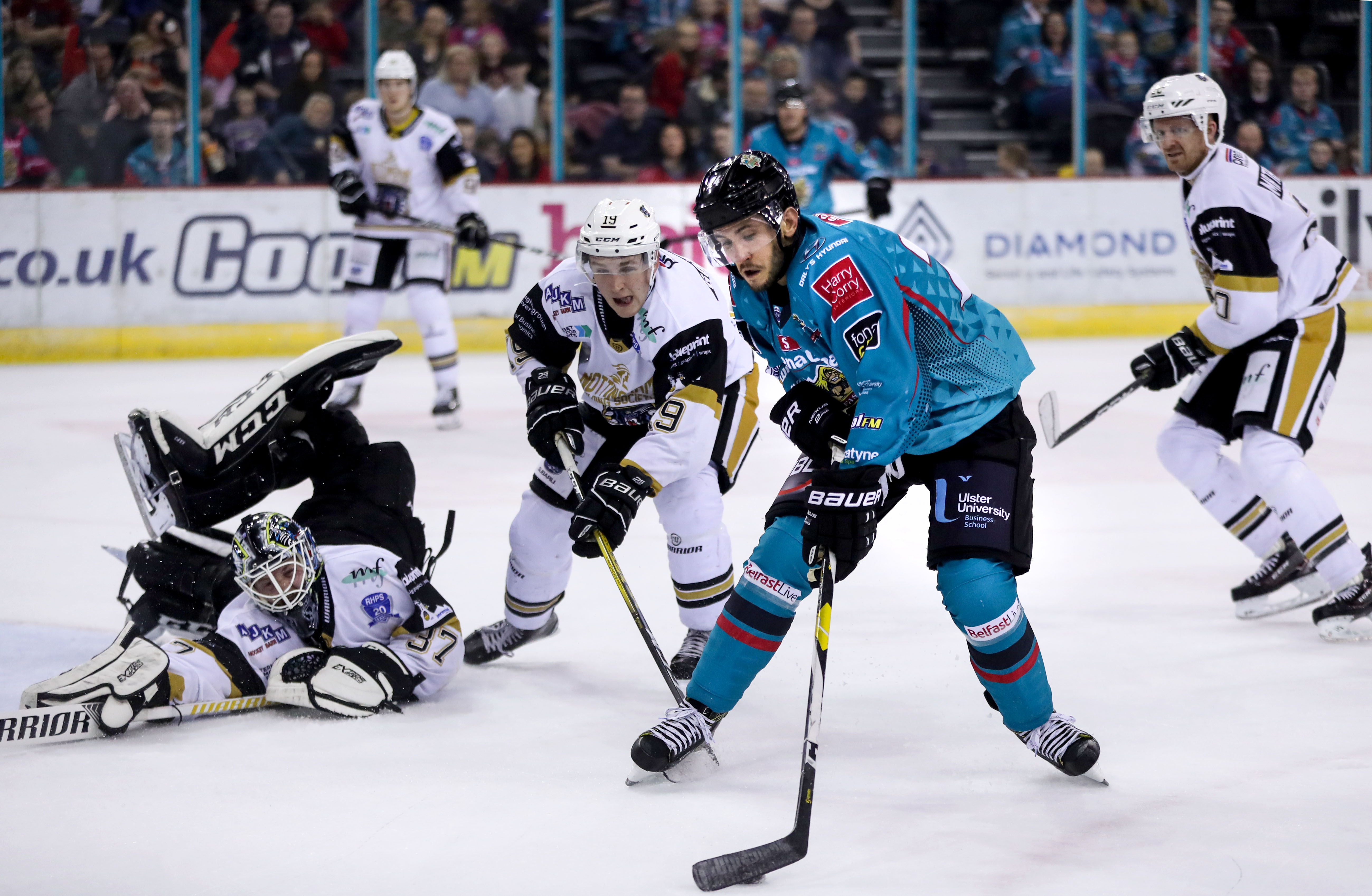 Belfast Giants v Nottingham Panthers - EIHL