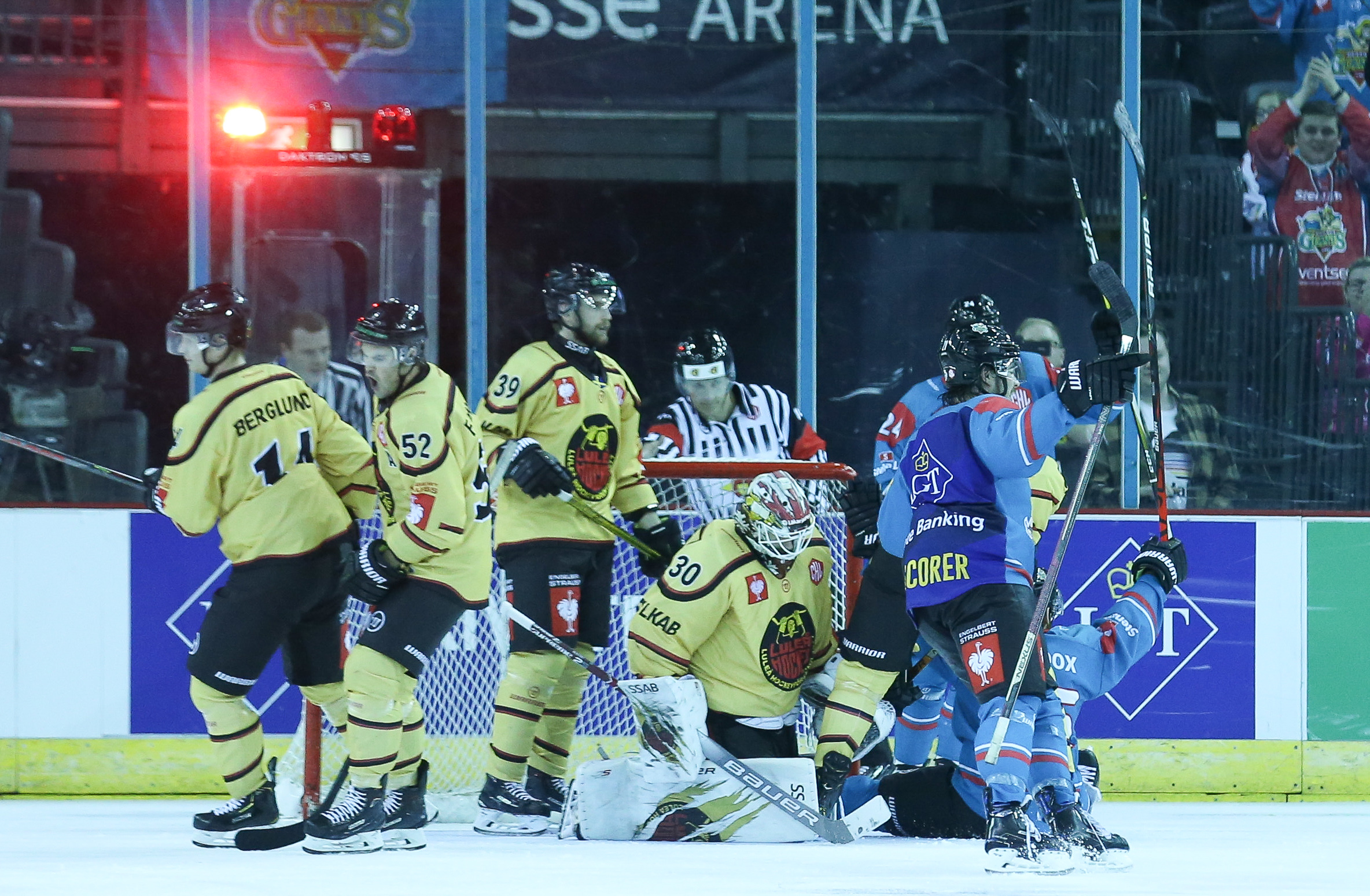 Peye Giants v Lulea_023