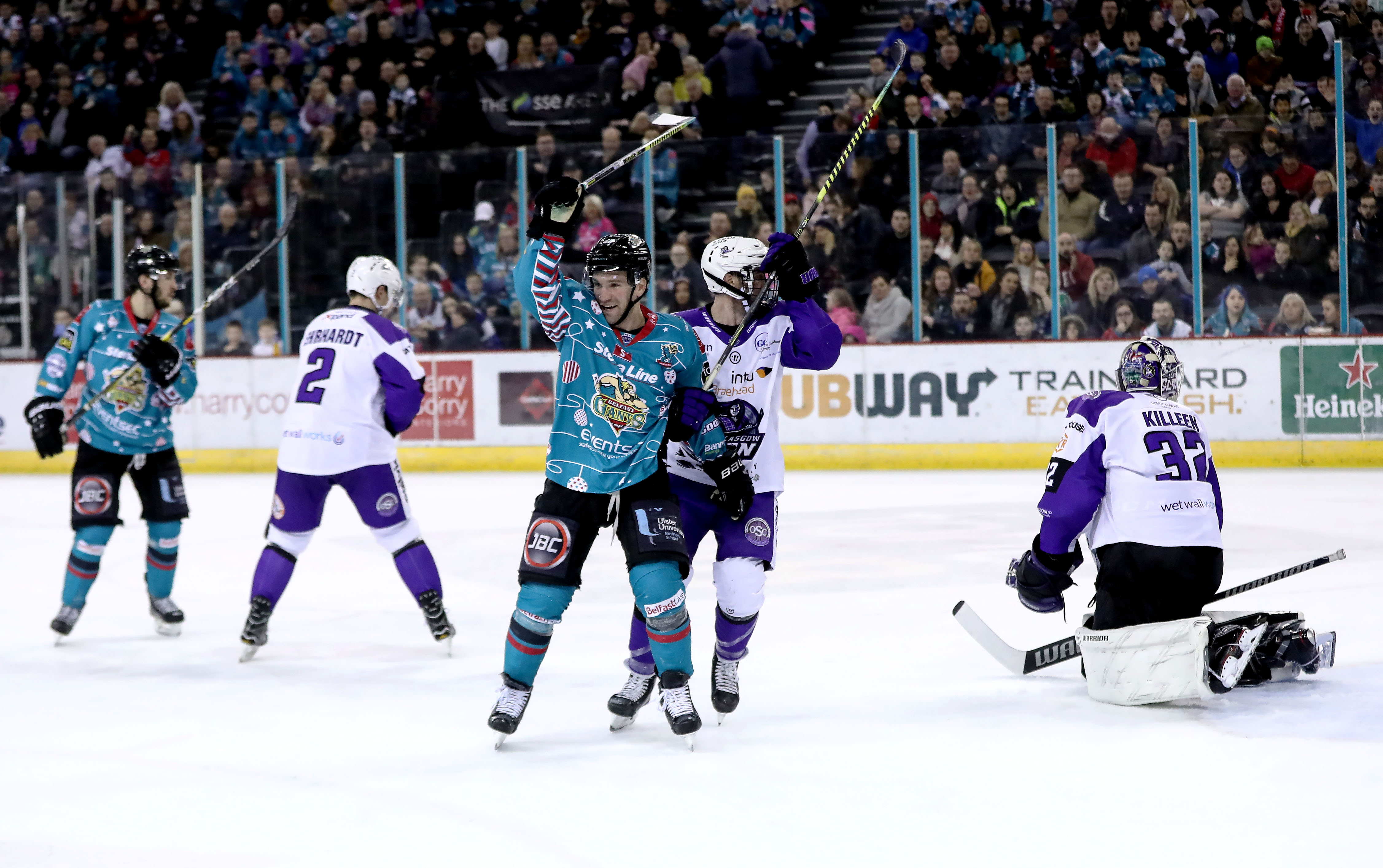 Belfast Giants v Glasgow Clan - EIHL